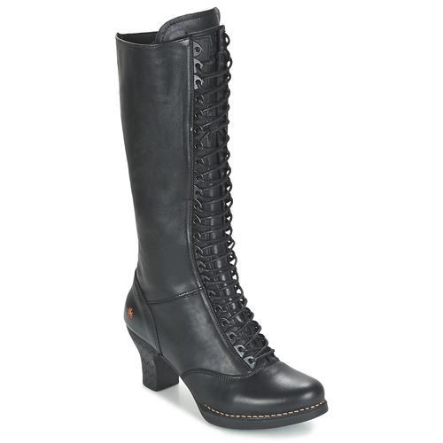 Παπούτσια Γυναίκα Μπότες για την πόλη Art HARLEM Black