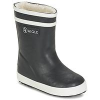 Παπούτσια Παιδί Μπότες βροχής Aigle BABY FLAC FUR Marine