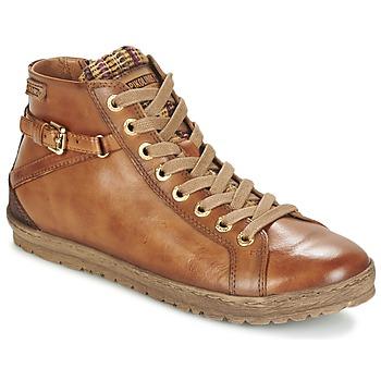 Παπούτσια Γυναίκα Ψηλά Sneakers Pikolinos LAGOS 901 COGNAC