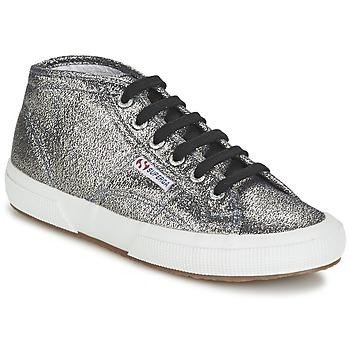 Παπούτσια Γυναίκα Ψηλά Sneakers Superga 2754 LAMEW Silver