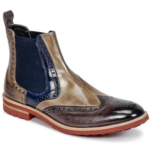 Παπούτσια Άνδρας Μπότες Melvin & Hamilton EDDY 13 Brown / Μπλέ