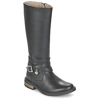 Παπούτσια Κορίτσι Μπότες για την πόλη Garvalin IRATIA Black