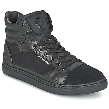 Παπούτσια Άνδρας Ψηλά Sneakers G-Star Raw NEW AUGUR Black