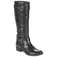 Παπούτσια Γυναίκα Μπότες για την πόλη Geox MENDI ST D Black