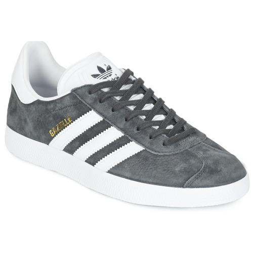 Παπούτσια Χαμηλά Sneakers adidas Originals GAZELLE Grey / Fonce
