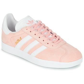 Παπούτσια Γυναίκα Χαμηλά Sneakers adidas Originals GAZELLE Ροζ