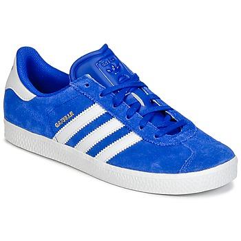 Παπούτσια Αγόρι Χαμηλά Sneakers adidas Originals GAZELLE 2 J Μπλέ