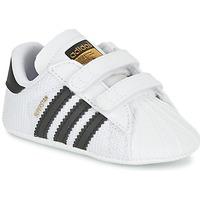 Παπούτσια Παιδί Χαμηλά Sneakers adidas Originals SUPERSTAR CRIB Άσπρο