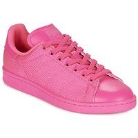 Παπούτσια Γυναίκα Χαμηλά Sneakers adidas Originals STAN SMITH ροζ
