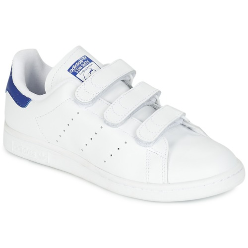 Παπούτσια Χαμηλά Sneakers adidas Originals STAN SMITH CF Άσπρο / Μπλέ