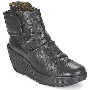 Παπούτσια Γυναίκα Μποτίνια Fly London YEGI Black