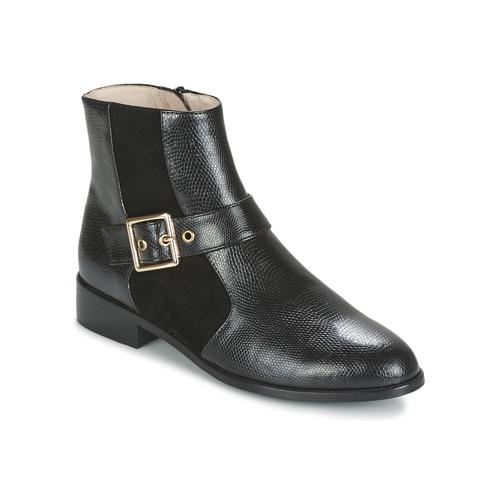 Παπούτσια Γυναίκα Μπότες Mellow Yellow ALDANA Black