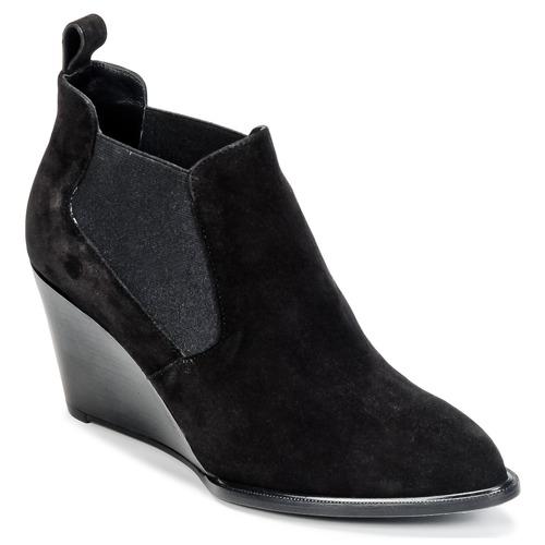 Παπούτσια Γυναίκα Χαμηλές Μπότες Robert Clergerie OLAV Black