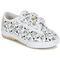 Παπούτσια Παιδί Χαμηλά Sneakers Feiyue FE LO SNOOPY EC Άσπρο