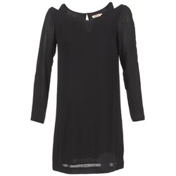 Υφασμάτινα Γυναίκα Κοντά Φορέματα DDP CRAPOU Black
