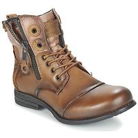 Παπούτσια Γυναίκα Μπότες Bunker SARA Brown