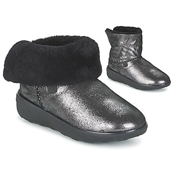 Παπούτσια Γυναίκα Μπότες FitFlop SUPERCUSH MUKLOAFF SHIMMER Silver