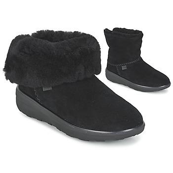 Παπούτσια Γυναίκα Μπότες FitFlop MUKLUK SHORTY 2 BOOTS Black