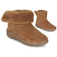 Παπούτσια Γυναίκα Μπότες FitFlop SUPERCUSH MUKLOAFF SHORTY  NOISETTE