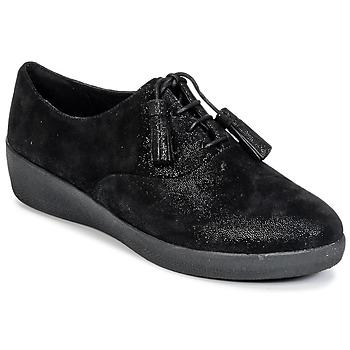Παπούτσια Γυναίκα Derby FitFlop CLASSIC TASSEL SUPEROXFORD Black