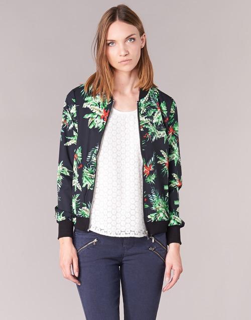 Υφασμάτινα Γυναίκα Σακάκι / Blazers Moony Mood MIBOU Marine / Green