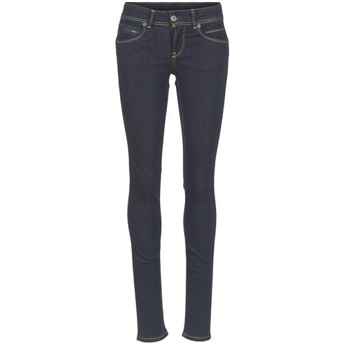 Υφασμάτινα Γυναίκα Skinny Τζιν  Pepe jeans NEW BROOKE M15 / Μπλέ / Brut