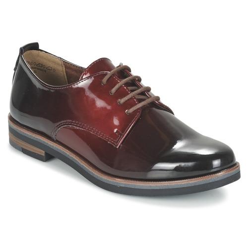 Παπούτσια Γυναίκα Derby Marco Tozzi TREFLO Red / Fonce