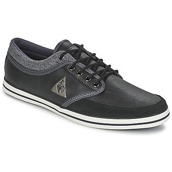 Παπούτσια Άνδρας Χαμηλά Sneakers Le Coq Sportif DENFERT S LEA/FELT Black / Grey