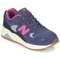 Παπούτσια Κορίτσι Χαμηλά Sneakers New Balance KL580 Violet / Ροζ
