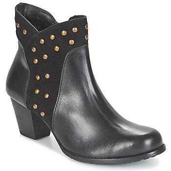 Παπούτσια Γυναίκα Μποτίνια Hush puppies KRIS KORINA Black