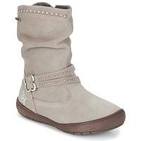 Παπούτσια Κορίτσι Μπότες για την πόλη Primigi CALISHA-E Taupe