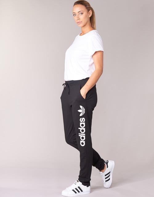 Υφασμάτινα Γυναίκα Φόρμες adidas Originals LIGHT LOGO TP Black