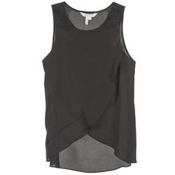 Υφασμάτινα Γυναίκα Αμάνικα / T-shirts χωρίς μανίκια BCBGeneration 616725 Black