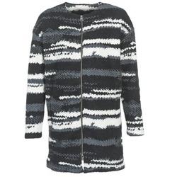 Υφασμάτινα Γυναίκα Παλτό Bench EVENING Black / άσπρο / Grey