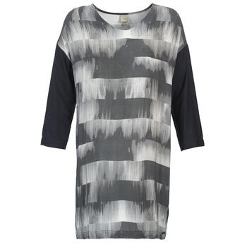 Υφασμάτινα Γυναίκα Κοντά Φορέματα Bench CRISP Black / Grey