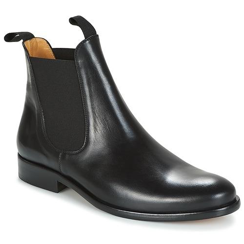 Παπούτσια Άνδρας Μπότες Brett & Sons LOUVAL Black