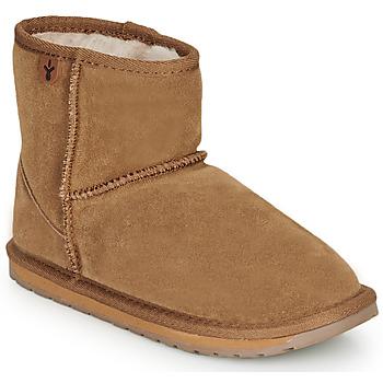 Παπούτσια Κορίτσι Μπότες EMU WALLABY MINI Chatain