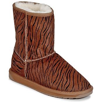 Παπούτσια Γυναίκα Μπότες EMU STINGER FUR LO Τιγρέ