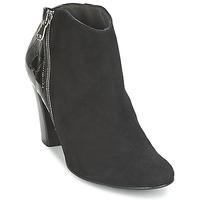 Παπούτσια Γυναίκα Χαμηλές Μπότες France Mode NANTES Black / Verni
