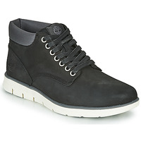 Παπούτσια Άνδρας Ψηλά Sneakers Timberland BRADSTREET CHUKKA LEATHER Black