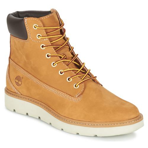 Παπούτσια Γυναίκα Ψηλά Sneakers Timberland KENNISTON 6IN LACE UP Beige