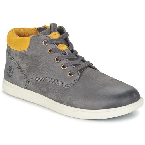 Παπούτσια Παιδί Μπότες Timberland GROVETON LEATHER CHUKKA Grey