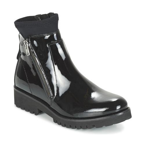 Παπούτσια Γυναίκα Μπότες Regard REJABI Black / Verni