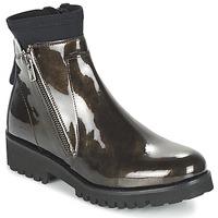Παπούτσια Γυναίκα Μπότες Regard REJABI Bronze / Verni