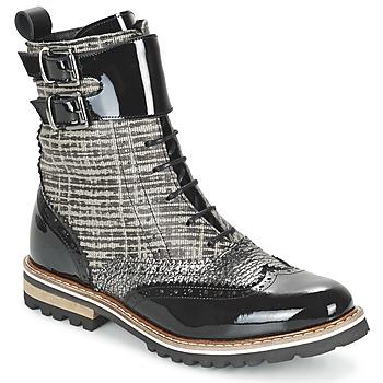 Παπούτσια Γυναίκα Μπότες Regard RIFADO Grey / Black / VERNI