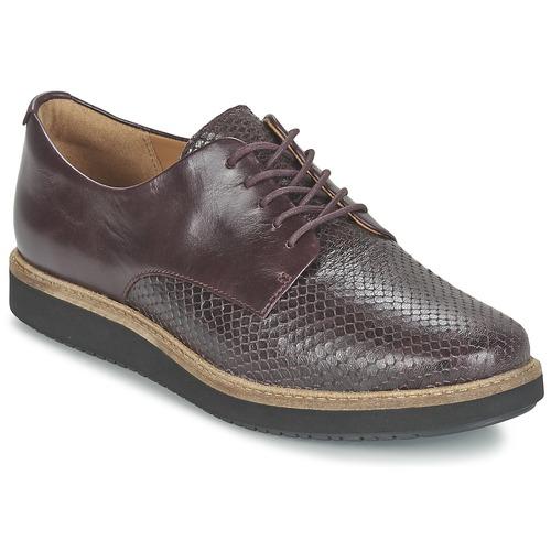 Παπούτσια Γυναίκα Derby Clarks GLICK DARBY AUBERGINE
