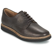 Παπούτσια Γυναίκα Derby Clarks GLICK DARBY Brown