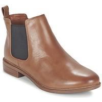 Παπούτσια Γυναίκα Μπότες Clarks TAYLOR SHINE Brown