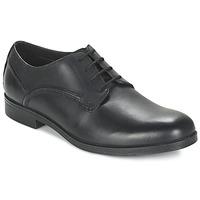 Παπούτσια Άνδρας Derby Clarks BROCTON WALK Black