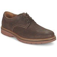 Παπούτσια Άνδρας Derby Clarks NEWKIRK PLAIN Brown